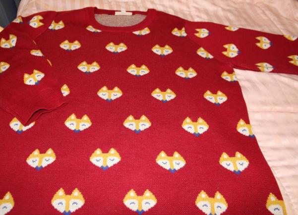 ModCloth Fox Sweater