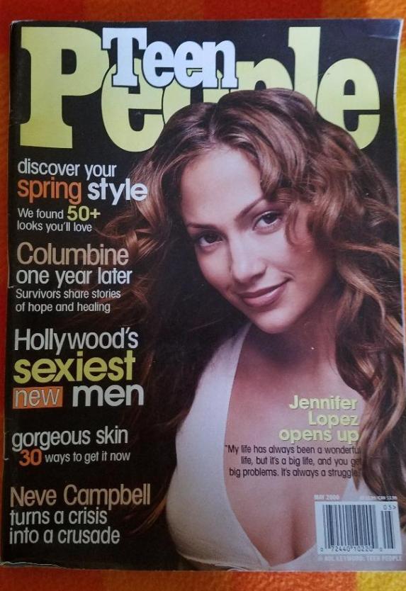 Jennifer Lopez Teen People